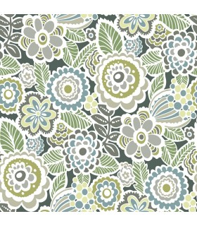 2903-25867 - Bluebell Wallpaper by A-Street-Lucy Retro Floral