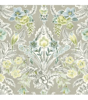 2903-25862- Bluebell Wallpaper by A-Street-Vera Floral Damask