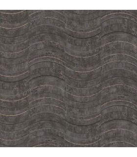 2927-10803 - Polished Metallic Wallpaper by Brewster-Hydra Geometric