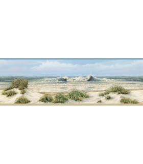 3120-53611B - Sanibel Sun Kissed Wallpaper by Chesapeake-Falmouth Shoreline Border