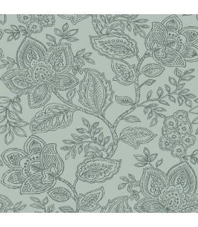 2861-25737-Equinox Wallpaper by A Street-Larkin Floral