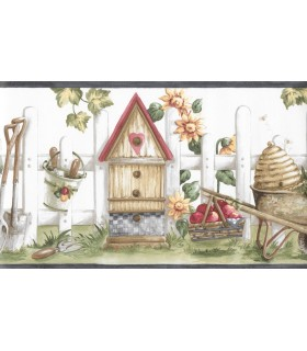 CL76402N - Birdhouse Border Special
