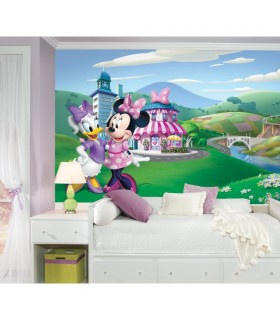 JL1437M - Disney Minnie Mouse Happy Helpers Mural