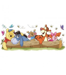 RMK2553GM - Disney Pooh and Friends Giant Wall Decal