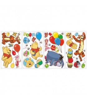 RMK1498SCS - Disney Pooh and Friends Wall Decals