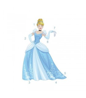 RMK3205GM - Disney Princess Cinderella Giant Wall Decal