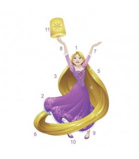 RMK3208GM - Disney Princess Rapunzel Giant Wall Decal