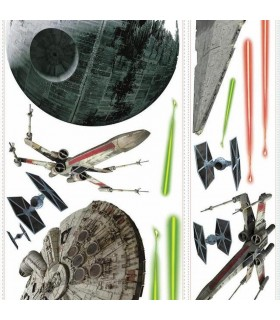 RMK3076GM - Star Wars - Classic Ships Wall Decals