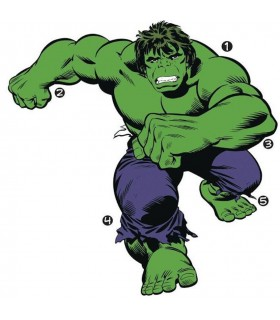 RMK3242GM - Classic Hulk Comic Giant Decal