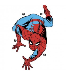 RMK3253GM - Classic Spiderman Comic Giant Decal