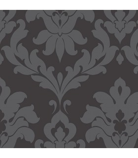 VG26227P - Shades by Norwall - Black Damask